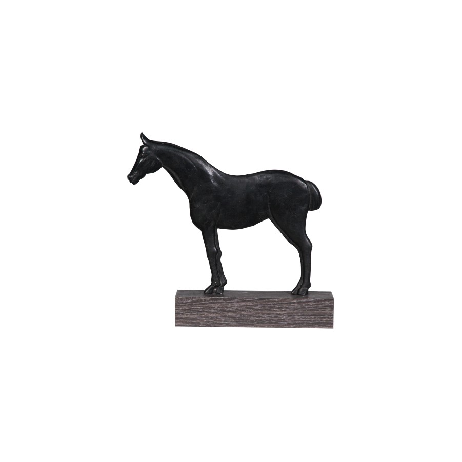 Buy Black Horse Statue Online | Home Furnishing in Pakistan