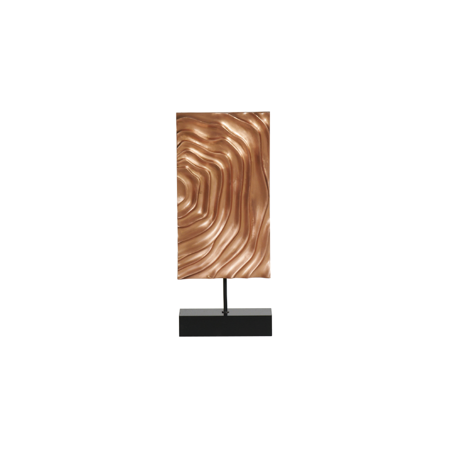 Buy Copper Waves Sculpture Online | Home Furnishing Pakistan
