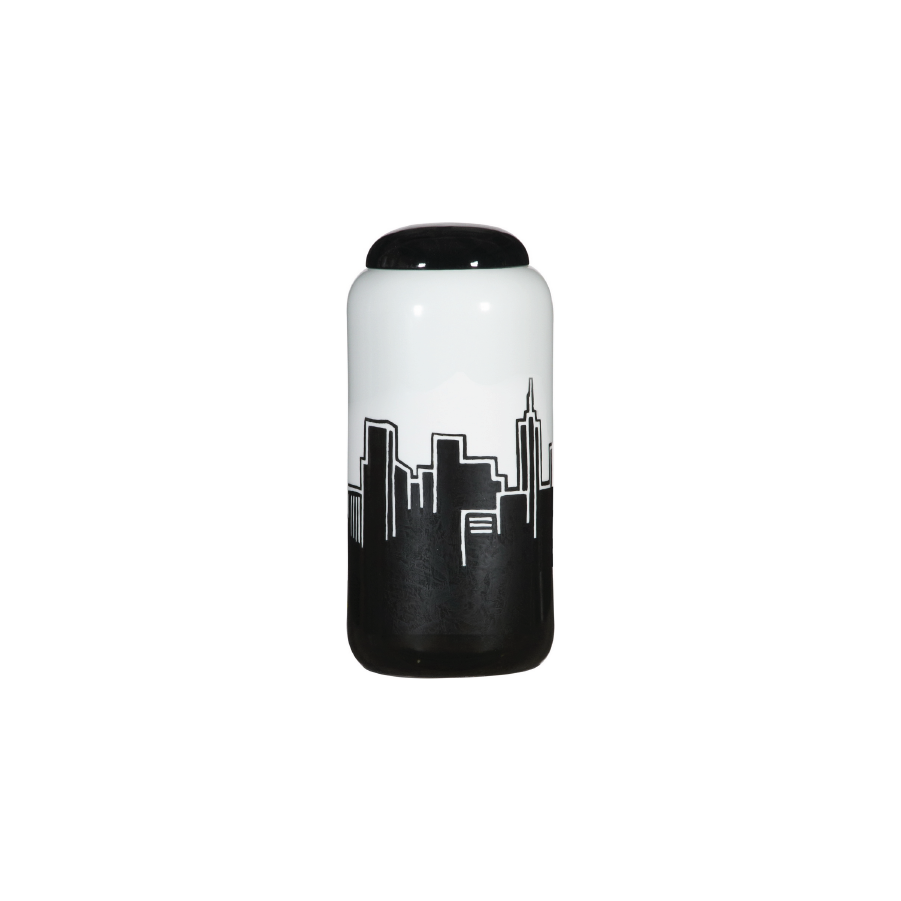 Buy City View Ceramic Container Online | Home Furnishing