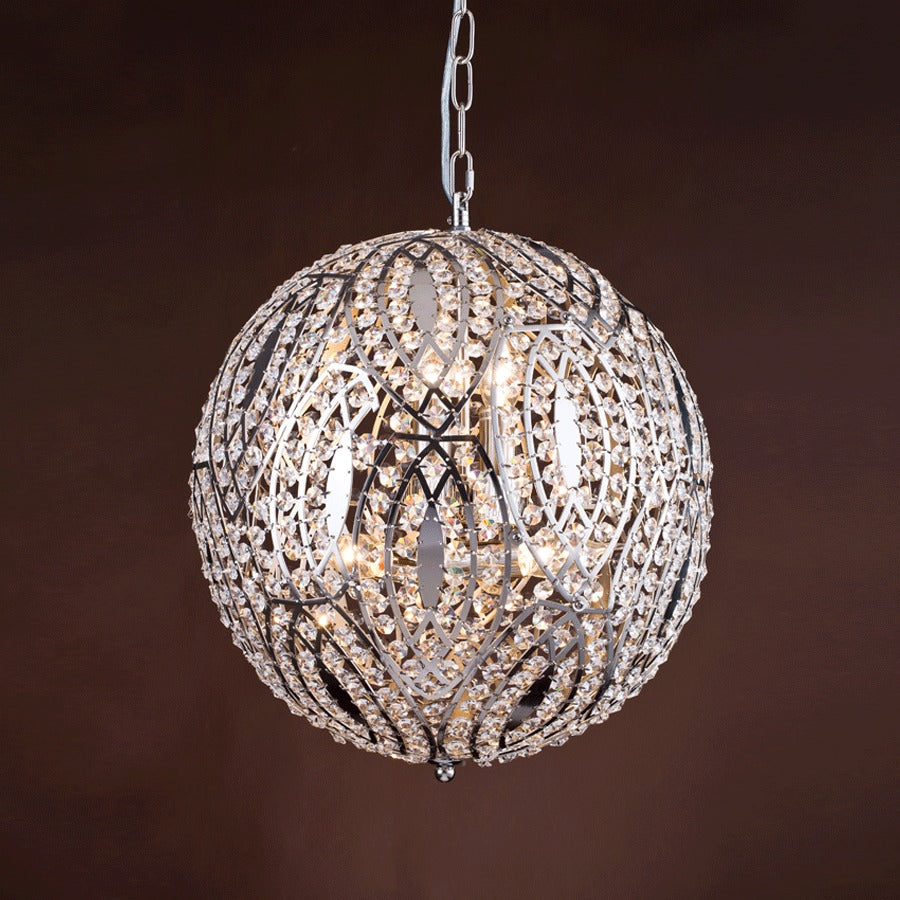 Buy Moroccan Round Nickel Pendant Online | Home Furnishing