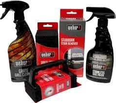 BBQ Grill Cleaning Supplies