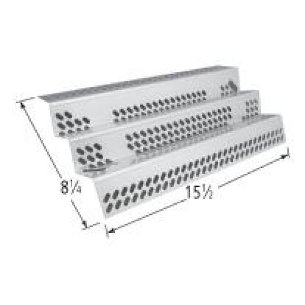 American Outdoor Grill SS Heat Plate 15 1/2 X 8 1/4 BCP90351 - BBQ Grill Parts