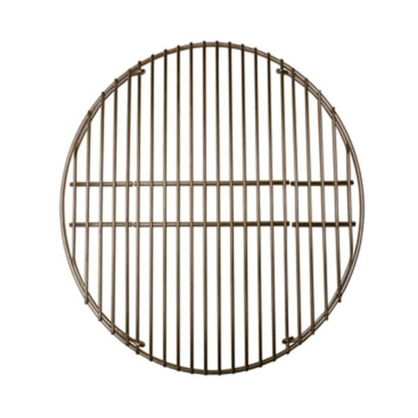 "BBQ Grill Big Green Egg Grill & Smoker 1 Piece Stainless Steel Cooking Grid 18 3/16"" Dia. BCP5S991"