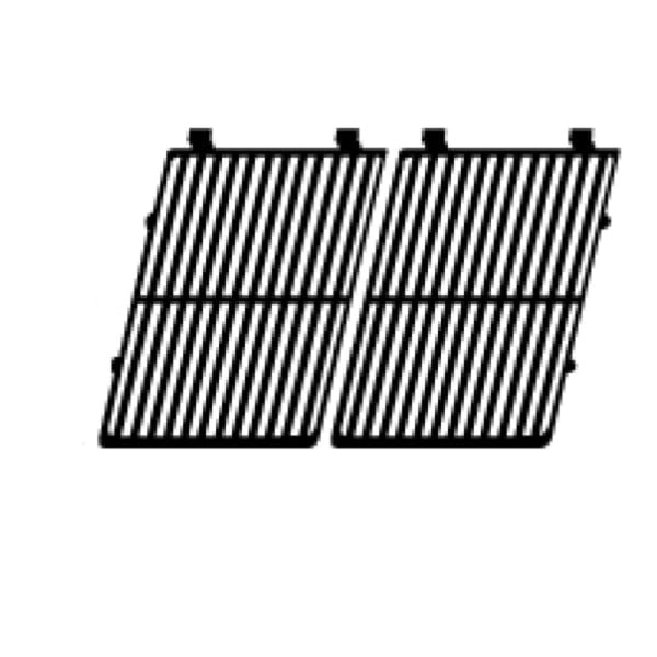 BBQ Grill Broil King Grate 2 Pc Gloss Cast Iron 14 11/16 X 24 1/2 BCP64292 - BBQ Grill Parts