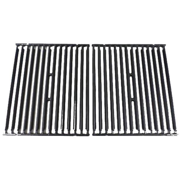 BBQ Grill Broil King Grate Cast Iron 2 Piece Set 15 1/8 X 25 1/2 BCP11228 OEM - BBQ Grill Parts