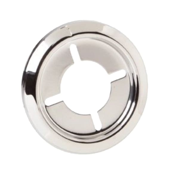 BBQ Grill DCS Knob Bezel Chrome Plated Part OEM 241461AP (Replacement For 210935) - BBQ Grill Parts