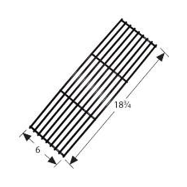 BBQ Grill BBQ Galore/Turbo 1 Piece Porcelain Stainless Steel Wire Cooking Grid 6 x 18 3/4 BCP59501 - BBQ Grill Parts