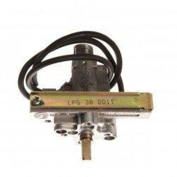 BBQ Grill BBQ Galore/Turbo Gas Valve Single Flame Thrower 45 Degree BCP361368MER OEM - BBQ Grill Parts