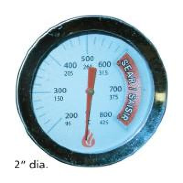 "BBQ Grill Jenn-Air Grill 1 Piece Temperature Gauge 2"" Dia. BCP00015"