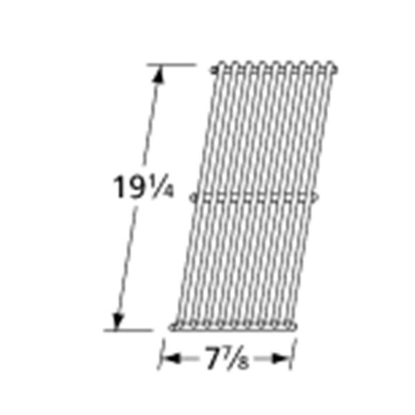BBQ Grill Members Mark 1 Piece Stainless Steel Wire Grate