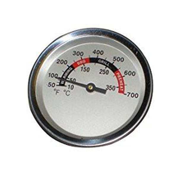 BBQ Grill Members Mark 1 Piece Temperature Gauge 2 3/8 Dia. BCP00012 - BBQ Grill Parts