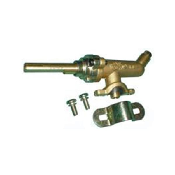 BBQ Grill Members Mark Gas Valve Brass Clasp Clamp on BCP3742C - BBQ Grill Parts