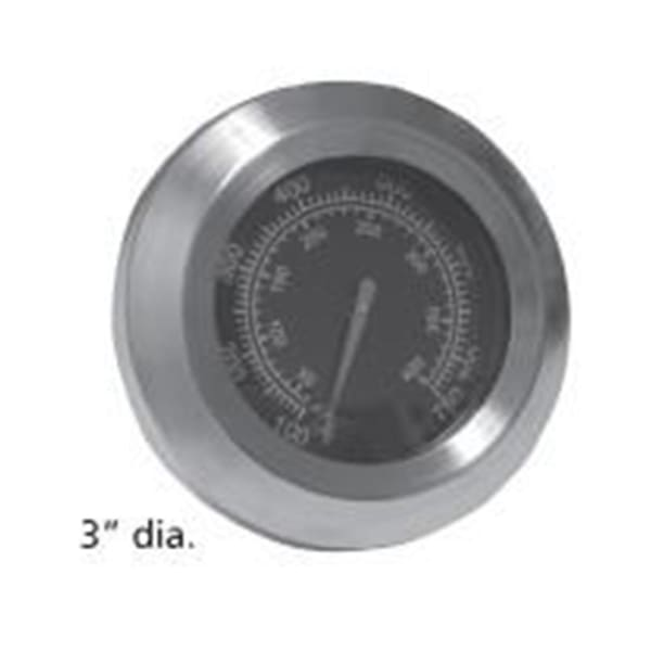 BBQ Grill Members Mark Temperature Gauge 3 Dia. BCP00016 - BBQ Grill Parts