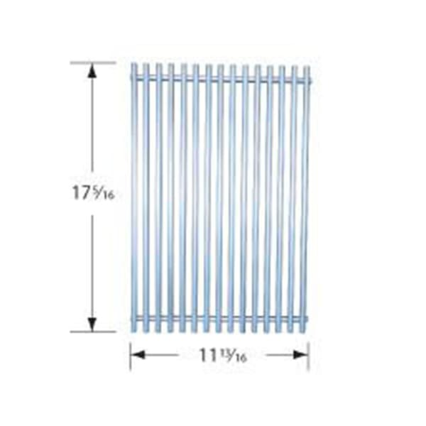 BBQ Grill Weber Grill 1 Piece Stainless Steel Wire Cooking Grate 11 13/16 x 17 5/16 BCP53S21 - BBQ Grill Parts