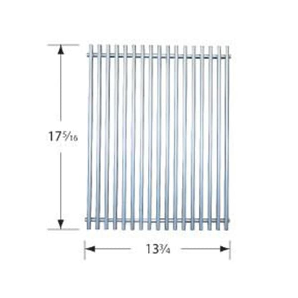 BBQ Grill Weber Grill 1 Piece Stainless Steel Wire Cooking Grate 13 3/4 x 17 5/16 BCP53S31 - BBQ Grill Parts