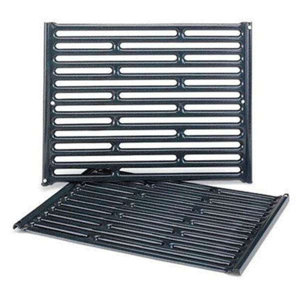 "BBQ Grill Weber Grill 2-Piece Porcelain-Enameled Steel Grate 15"" x 22-3/4"" BCP7523- 65904 OEM"