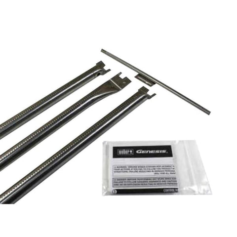 BBQ Grill Weber Grill 3-Pack Stainless Steel Burner Set (Plus 1 Crossover Burner Tube) BCP67722 OEM - BBQ Grill Parts