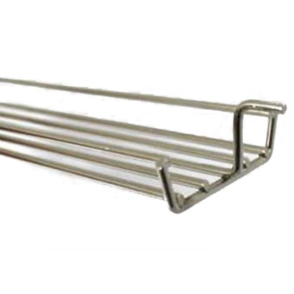 BBQ Grill Weber Grill Grate 1 Piece Chrome Plated Warming Basket 25-1/4 Long (Pin to Pin) BCP80641 OEM - BBQ Grill Parts