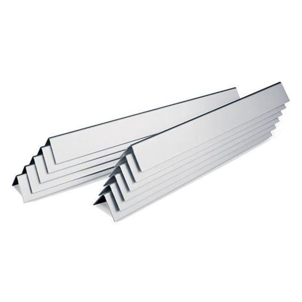 "BBQ Grill Weber Grill Heat Plate 11-Pack Stainless Steel Flavorizer Bar Set 15-7/8"" Long BCP9921 OEM"
