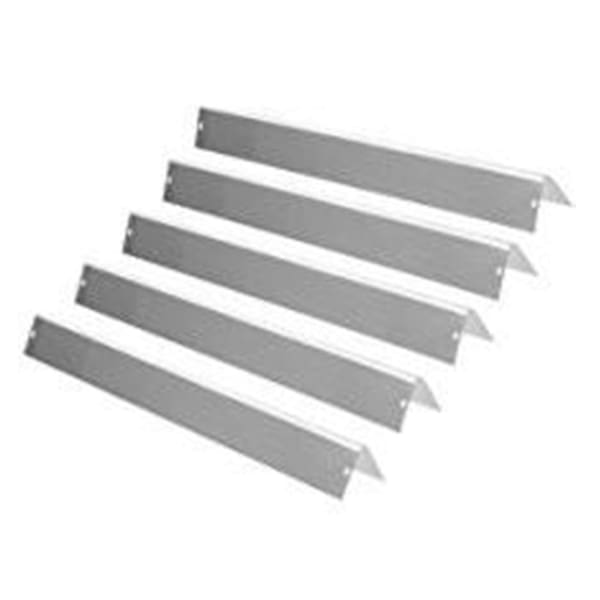 "BBQ Grill Weber Grill Heat Plate 5-Pack Stainless Steel Flavorizer Bar Set 24 1/2"" Long BCP7540 OEM"