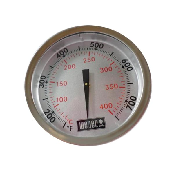BBQ Grill Weber Grill Temperature Gauge Without Mounting Tab 2-3/8 Dia. BCP60393 OEM - BBQ Grill Parts