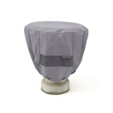 Bird Bath Cover Elite 24 Dia x 18 H Color: Charcoal FTCPBB1.CH2 - Water Fountain