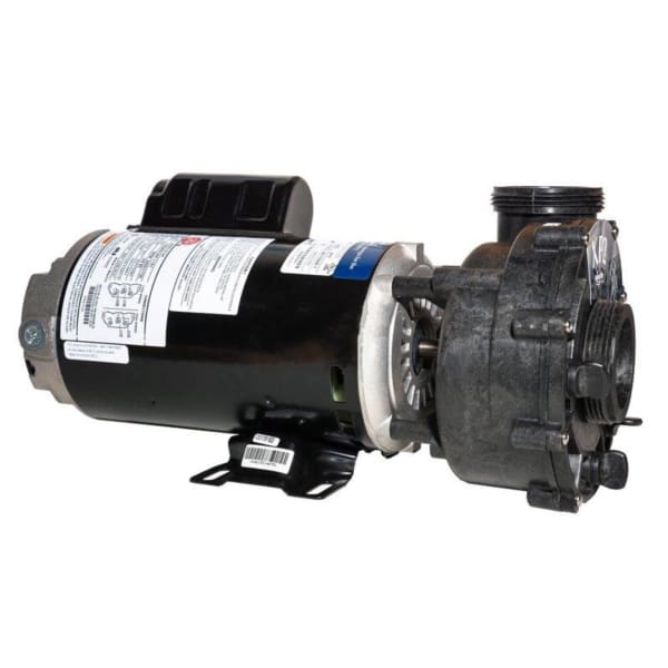 Caldera Spa Jet Pump Xp 1.0 Hp 2 Speed 120 Volt 48 Frame Side Discharge 2 Inch Plumbing WAT72463 - Hot Tub Parts