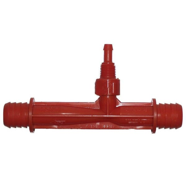 Caldera Spa Ozone Injector 3/4 Inch Barb Red WAT39314 - Hot Tub Parts