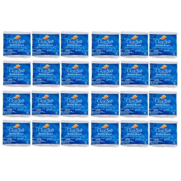 Clear Spa Bromo Boost 2 Ounce 24 Packets HTCPCSSO002Z-24 - Hot Tub Parts