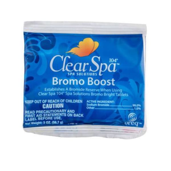 Clear Spa Bromo Boost 2 Ounce Single Packet HTCPCSSO002Z - Hot Tub Parts