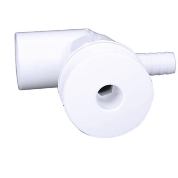 Dimension One Spa Ozone Jet With Barb - White DIM01510-201-A - Hot Tub Parts