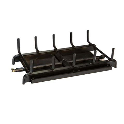 Fireplace Burner Grand Canyon 2 Burner See Through 24 FCP2BRN-ST24 - Fireplace
