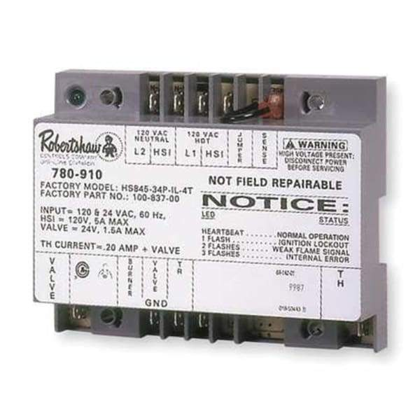 Fireplace Ignitor Module Electronic Ignition Module Robertshaw,Universal Hot Surface Ignition Module  780-910