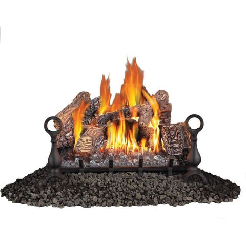Fireplace Napoleon Vent Free 30 LP 6 Pc Logs Set FCP16849 - Fireplace