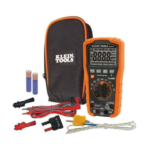 Fireplace Tools Klein Full Size Digital Multimeter FCP3552969 - Fireplace