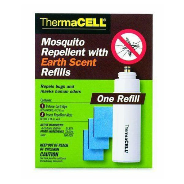 Fountain Thermacell Mics Mosquito Repellent With Earth Scent Refill E1 - Water Fountain