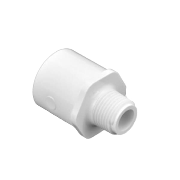 Fountain & Water Feature PVC 3/8 x 1/2 PVC SCH 40 Male x Socket Adapter - Water Fountain