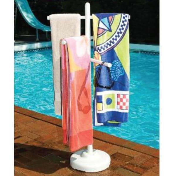 Hot Tub Accessories PVC Outdoor Spa and Pool Towel Rack HTCP4300 - Hot Tub Parts