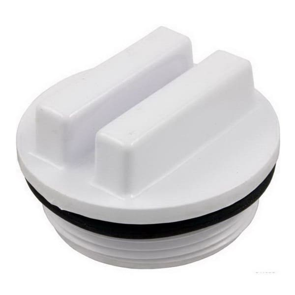 "Hot Tub Fittings Pvc Waterway Universal Plug. 1 1/2 "" MPT 400-6600"
