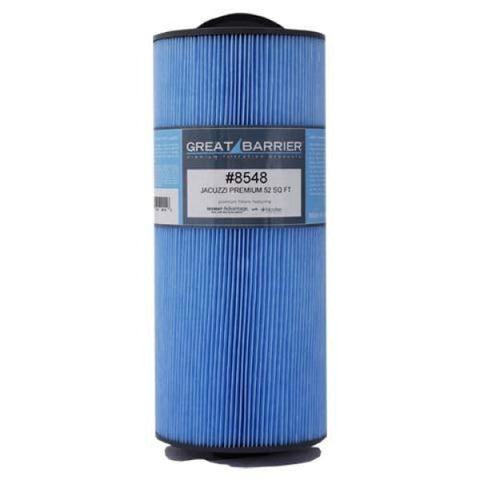 Hot Tub Great Barrier Filter Cal Spa/Jacuzzi Premium Single Replacement Filter HTCP8548 - Hot Tub Parts