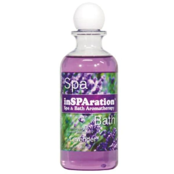 Hot Tub InSPAration Lavender 1 Bottle For Hot Tubs and Spas (9 oz) HTCP7341 - Hot Tub Parts