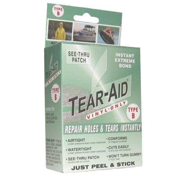 Hot Tub Maintenance & Cleaning Repair Kit TEAR-AID Vinyl 6420 - Hot Tub Parts