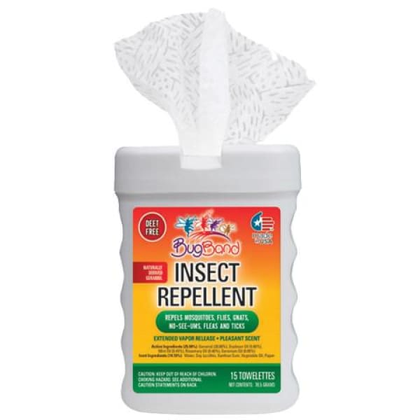 Hot Tub Miscellaneous BugBand 1 Box of Insect Repellent Toweletts (15 Toweletts Total) HTCP88919 - Pool