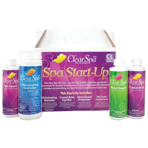 Hot Tub Spa Chemical Chlorine Spa Care Kit SPASTARTCH - Hot Tub Parts