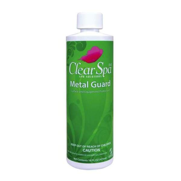 Hot Tub Spa Chemical Metal Guard Clear Spa Solutions - Hot Tub Parts