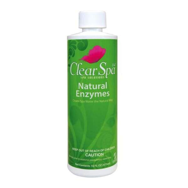 Hot Tub Spa Chemical Natural Enzymes Clear Spa Solutions - Hot Tub Parts