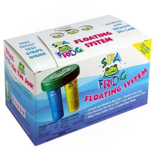 Hot Tub Spa Frog Chemicals Floating System 01-14-3882