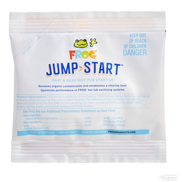 Hot Tub Spa Frog Chemicals Jump Start 1.5 oz 1 Packet 2550