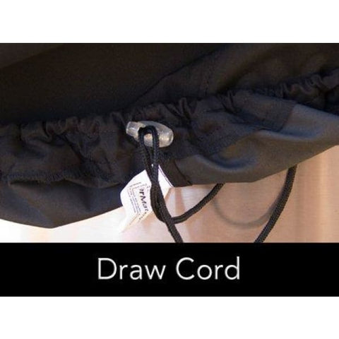 Log Rack Cover 8 FT - 98W x 24D x 44H Color: Black FCP744.BK2 - Fireplace