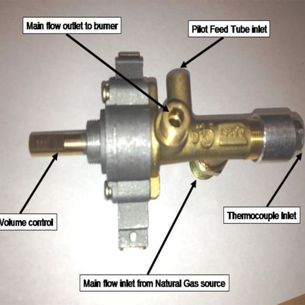 Patio Heater Hiland Natural Gas Control Valve For Ng Ss
